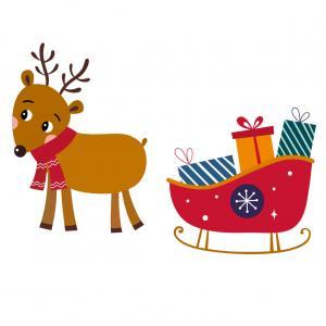 Image de Noel gratuite : Images de Noel de différents formats à imprimer et représentant le Père Noël dans son traineau. Ces images de Noël sont à imprimer, elles sont gratuites pour