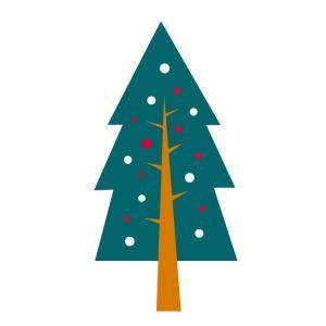 Image de Noel gratuite : Planche d'images de Noel pour les enfants : images de sapins de Noël