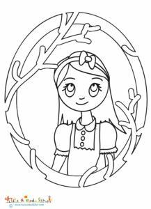 Portrait d'Alice aux pays des merveilles
