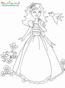 La Belle au bois dormant chante avec les oiseaux