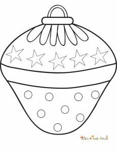 Grosse boule de Noël fantaisie aux étoiles