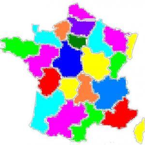 Imprimer les départements colorés pour puzzle carte de France grâce à TAM