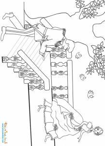 Le prince trouve la pantoufle de Cendrillon