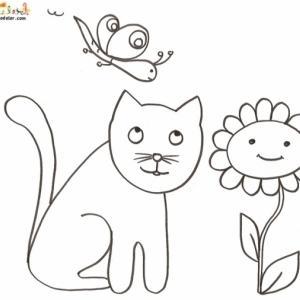 Coloriages Sur Les Chats De Toutes Sortes Coloriage Chat Tête à