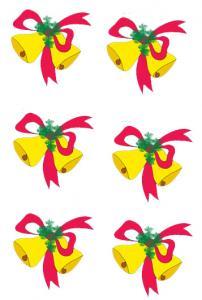 Imprimer l'image de cloches de Pâques