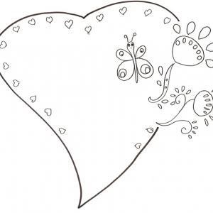 Coloriage Coeur Des Coloriages De Coeur A Imprimer Sur Tete A Modeler
