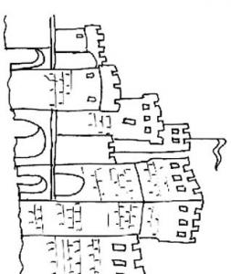 Coloriage Dun Chateau De Princesse.Coloriage Chateau Chevalier Sur Tete A Modeler