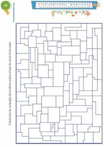 Coloriage magique 3 : rectangles et carrés