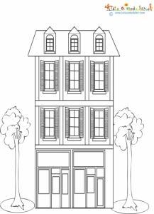 Maison de ville 2 étages
