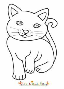 Dessin d'un chat tout en rondeur
