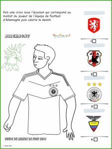 Activité sur le maillot d'Allemagne
