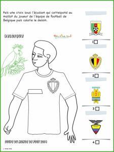 Activité sur le maillot de Belgique