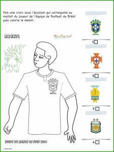 Activité sur le maillot de Brésil