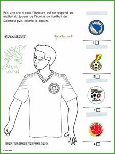 Activité sur le maillot de Colombie