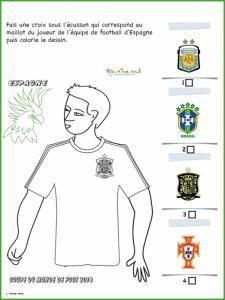 Activité sur le maillot d'Espagne