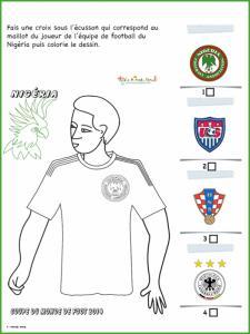 Activité sur le maillot du Mexique