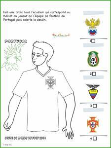 Activité sur le maillot du Portugal