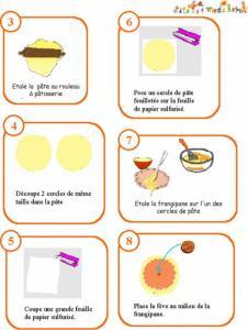 Imprimer la recette des la galette des rois (suite)