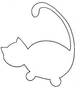 Modèle petit chat - junior