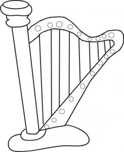 Coloriages Dinstruments De Musique Et Sur Lunivers De La Musique
