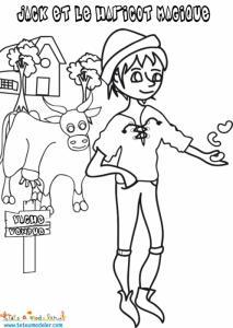 Jack vend sa vache contre des haricots magiques