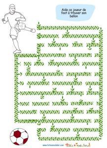 Labyrinthe sur la coupe du monde de foot