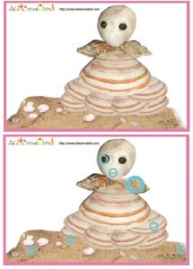 Solution du Jeu des erreurs: poupée en coquillage