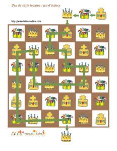 Solution du jeu de suite logique : roi, fou, dame