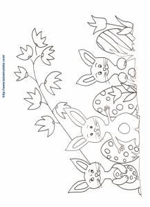 Les oeufs et les lapins