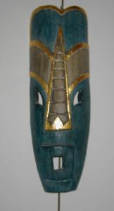 Modèle de masque africain