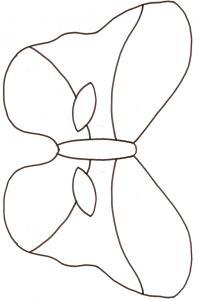 Imprimer le gabarit du masque de papillon
