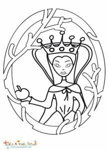 Portrait de la méchante reine