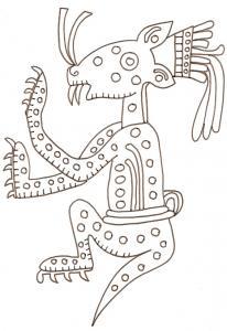 Jaguar mexicain art précolombien
