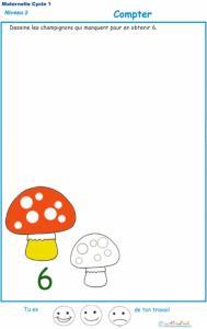 Imprimer l'exercice 1 : Ajouter les champignons qui manquent