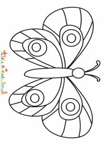 Coloriage Papillon Dessin Papillon La Sélection De Tête