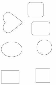 Formes pour cadre photo