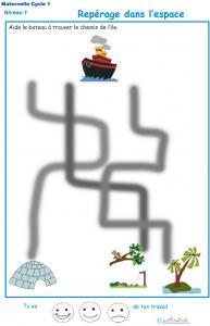 Jeu du Labyrinthe du bateau