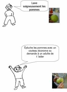 Pommes au four : page 5 junior