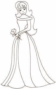 princesse à la fleur