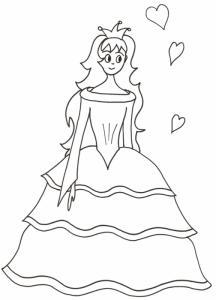 princesse aux coeurs