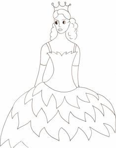Buste d'une princesse