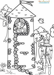 Raiponce dans la tour