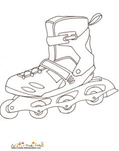 Coloriage roller