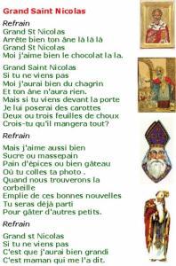 "Imprimer la chanson ""Grand Saint Nicolas"""