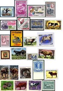 Imprimer la troisème planche de timbres-poste
