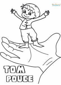 Tom Pouce dans la main