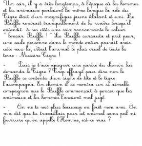 Page 1 du conte