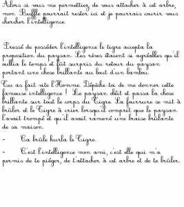 """Imprimer la page 7 du conte """"Le tigre et le paysan"""""""