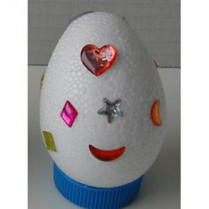 Oeuf de Pâques décoré : exemple