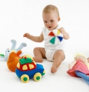 Le jeu chez bébé